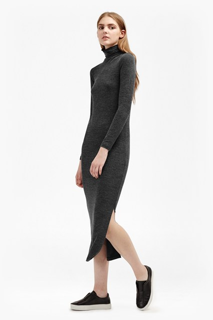 Sweeter Sweater Roll Neck Jumper Dress