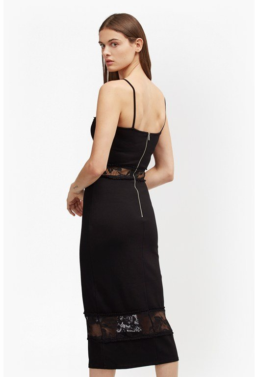 Lucky Layer Strappy Lace Dress