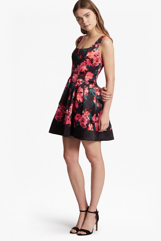 Allegro Poppy Satin Strappy Dress