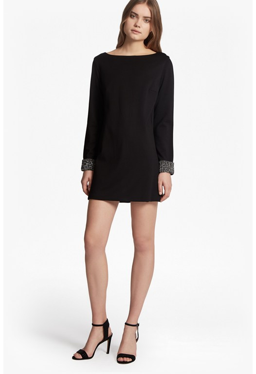 Crystal Shot Tunic Dress