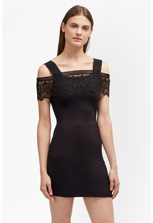Petra Lace Beau Cold Shoulder Dress