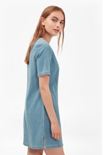 Looks Great With Dina Denim T-Shirt Dress