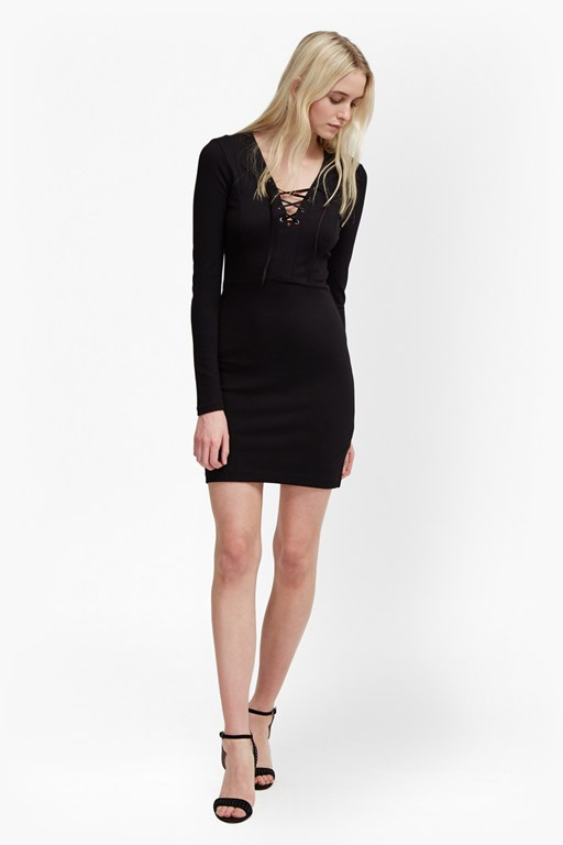 Complete the Look Lula Lace Up Dress