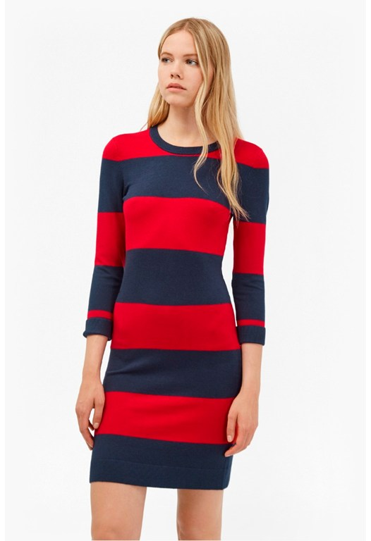 Rugby Stripe Bambi Dress