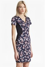 Looks Great With Eva Cotton Leaf Print Dress