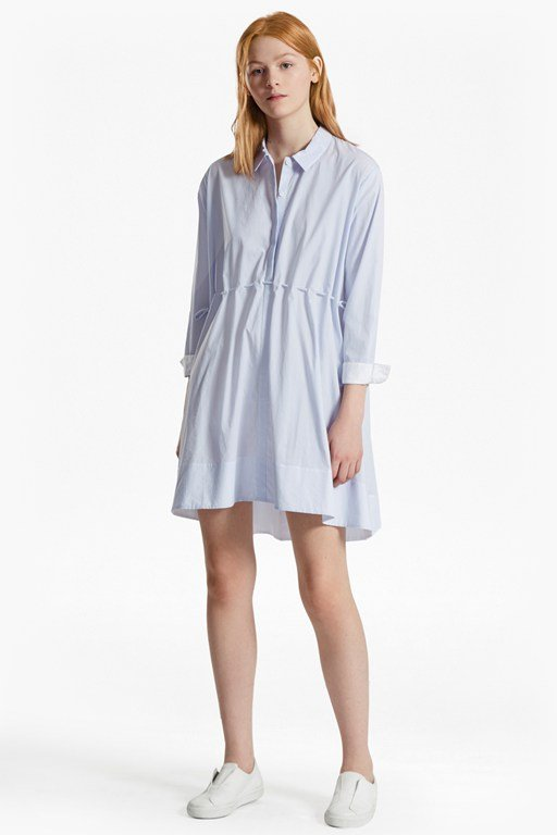 Smithson Striped Shirt Dress
