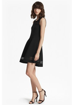 Tobey Crepe Knit Flared Dress