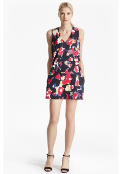 Bella Lula Floral Print Mini Dress