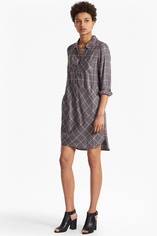Darla Check Dress