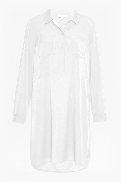 Crepe Light Darla Shirt Dress