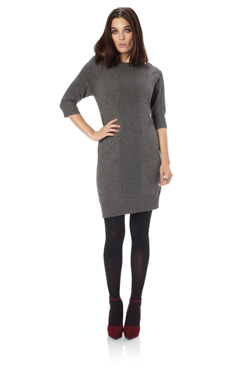 Rocker Knits Oversized Jumper Dress