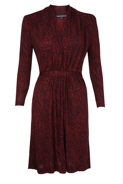 Timber Jersey Long Sleeve Dress