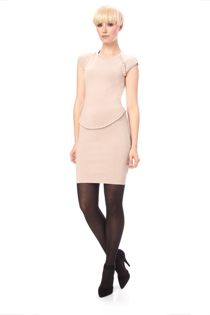 Dani Crepe Cap Dress