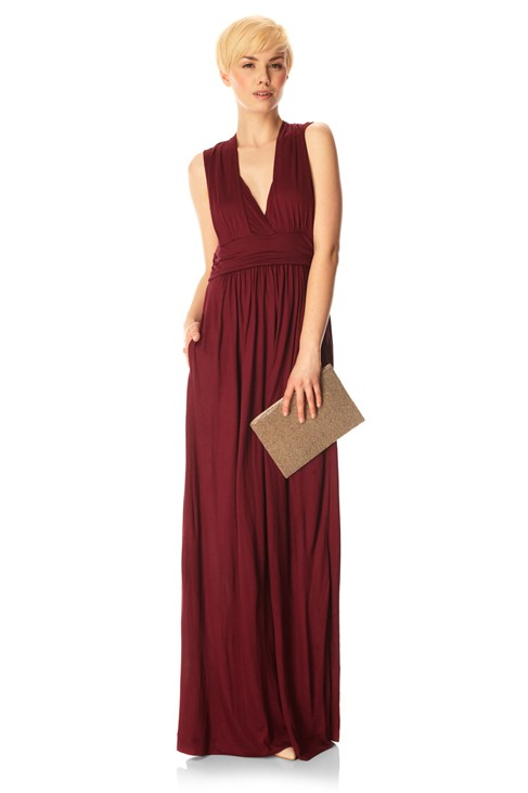 DARCEY DRAPE STRAPPY DRESS