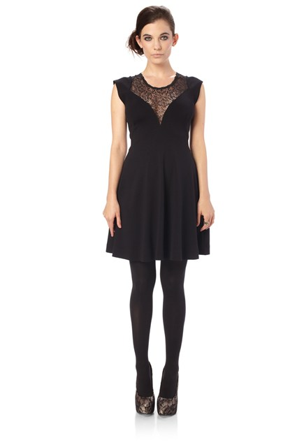 Alicia Lace Flare Dress