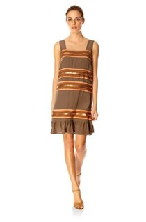 Chain Gang Strappy Tunic Dress