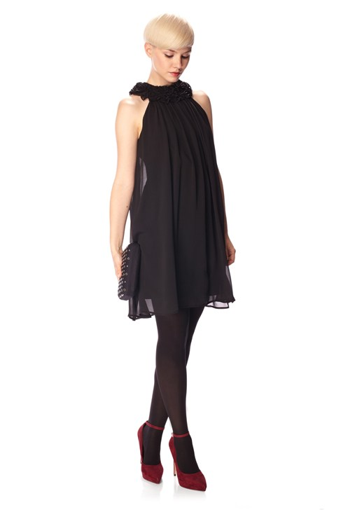GEORGIE GEORGETTE SILK DRESS