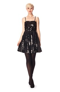 Glacier Sequin Midi Dress