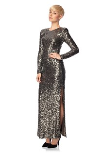 Ozlem Sequin Maxi Dress