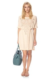 Charis Crochet Dress
