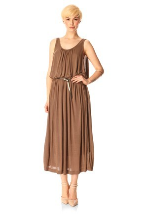 MESSINA JERSEY MAXI DRESS