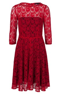FAST IRIS LACE DRESS