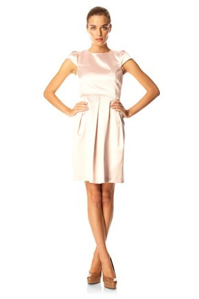 MARION SATIN DRESS