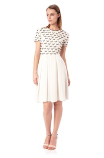 Geo Daisy Dress