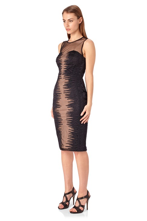 Primal Mesh Fitted Dress $ 69.99