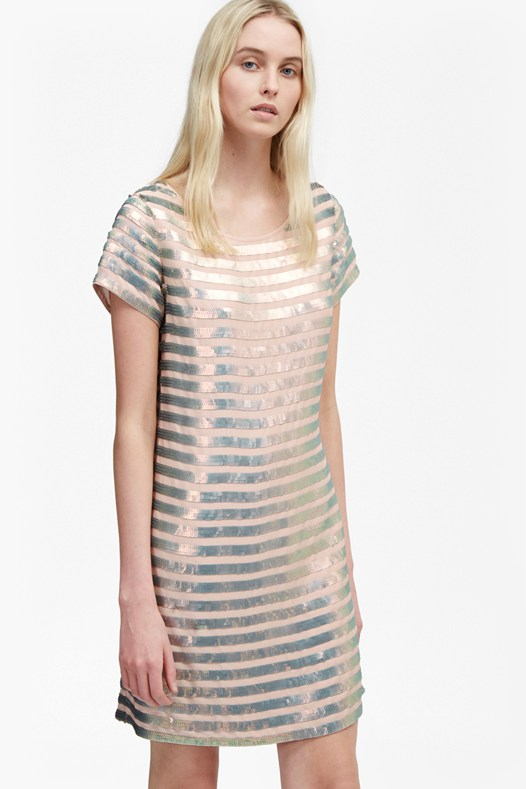 Serpent Sequin Dress
