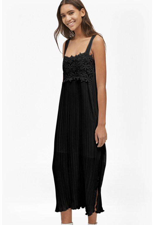 Posy Lace Strappy Maxi Dress