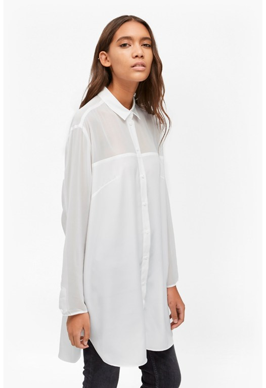 Samantha Shirting Oversized Shirt