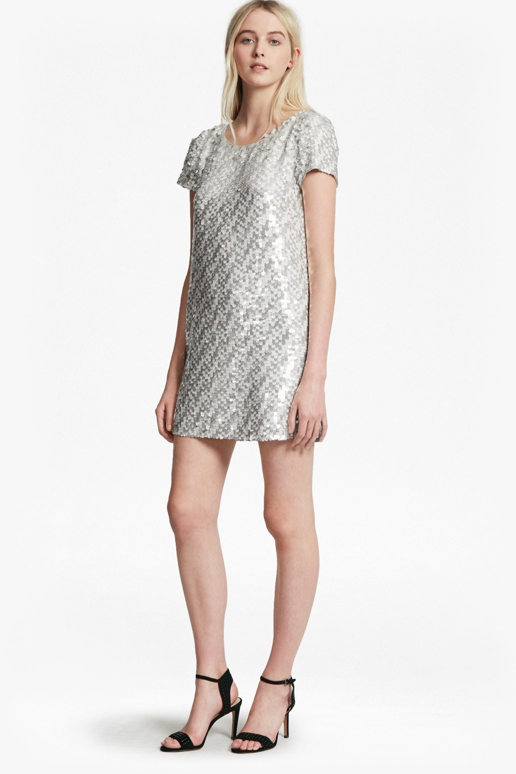 Snow Sequins Tunic Dress | Sale | French Connection Usa