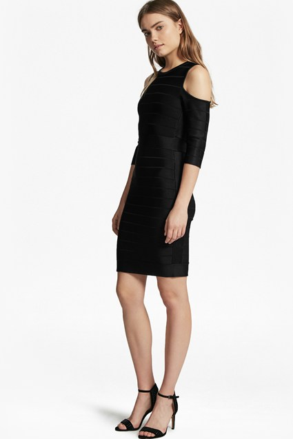 Spotlight Story Knit Cold Shoulder Dress