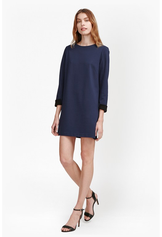 Lula Tiff Slash Neck Dress