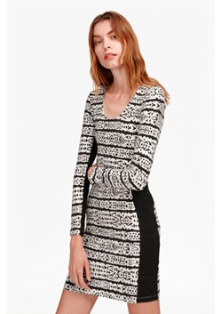 Mayan Stripe Bodycon Dress