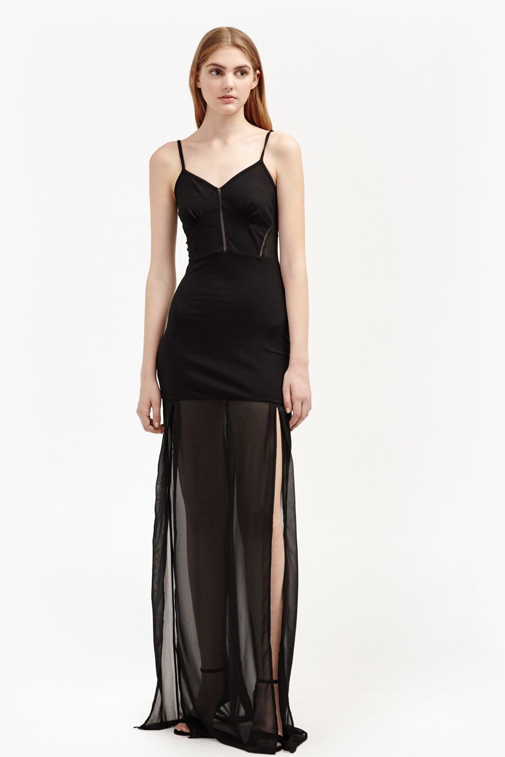 Chantilly Bow Strappy Maxi Dress   Sale   French Connection Usa