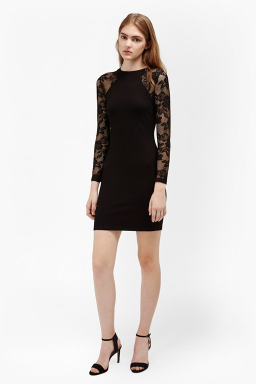 tatlin beau jersey lace dress
