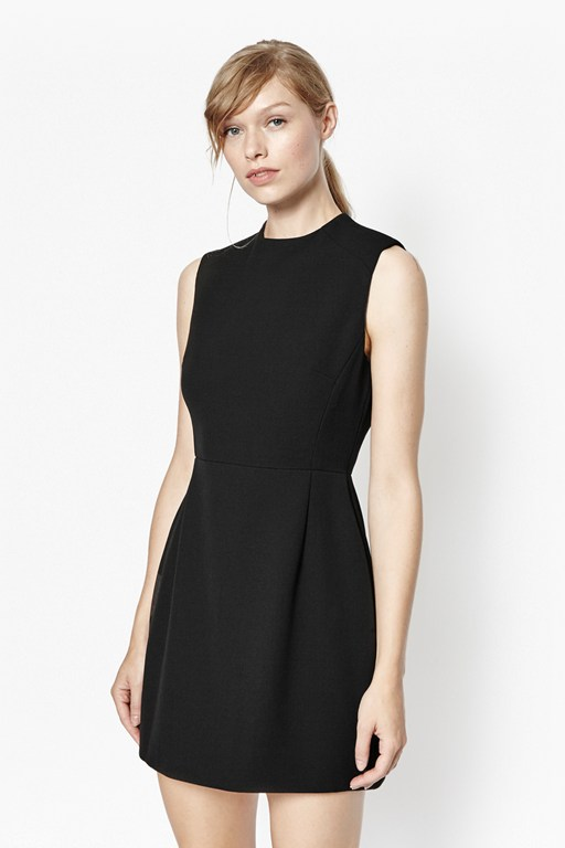sundae structured sheath dress