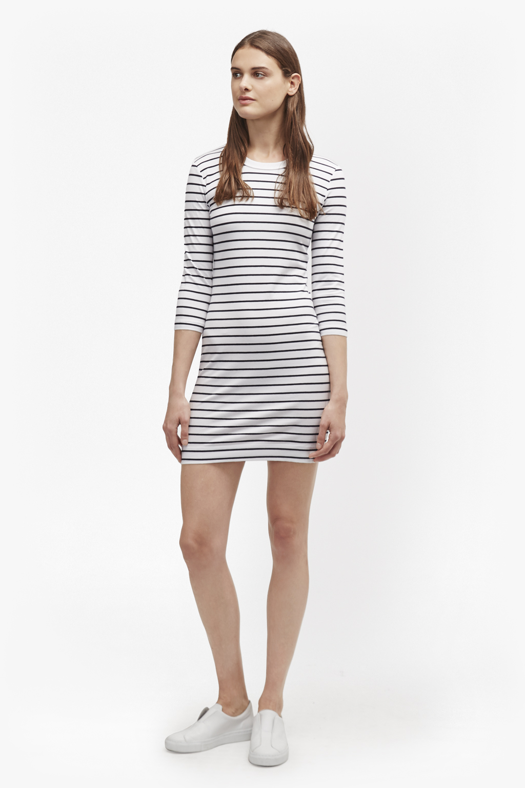 Sale Manchester Cheapest Price Cheap Price French Connection Tim Tim Striped Dress Cost Cheap Online 7QMG74