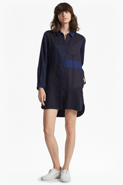 Complete the Look Kruger Tencel Mix Shirt Dress