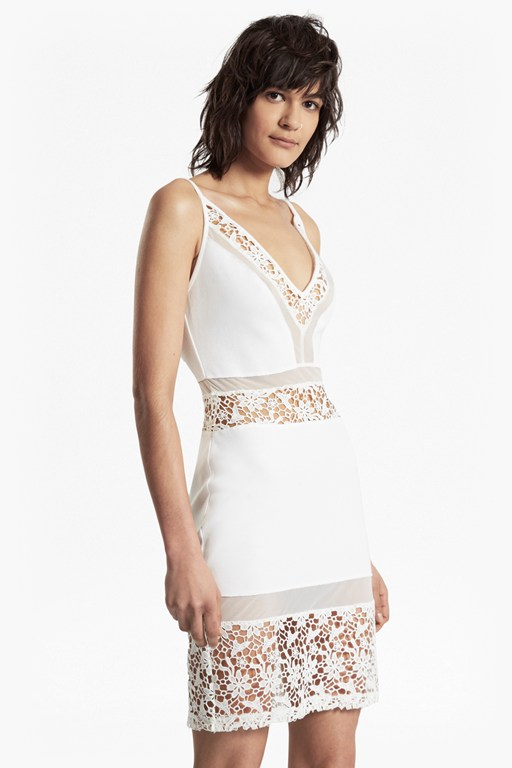 noland layer strappy lace dress