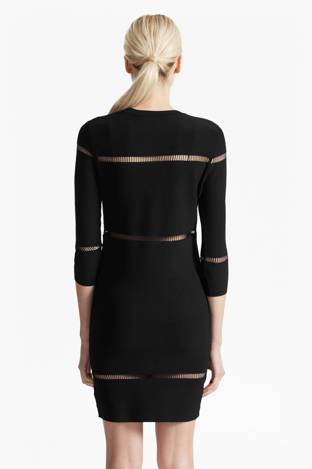 Danni Ladder Stitch Knitted Dress Sale French Connection Usa