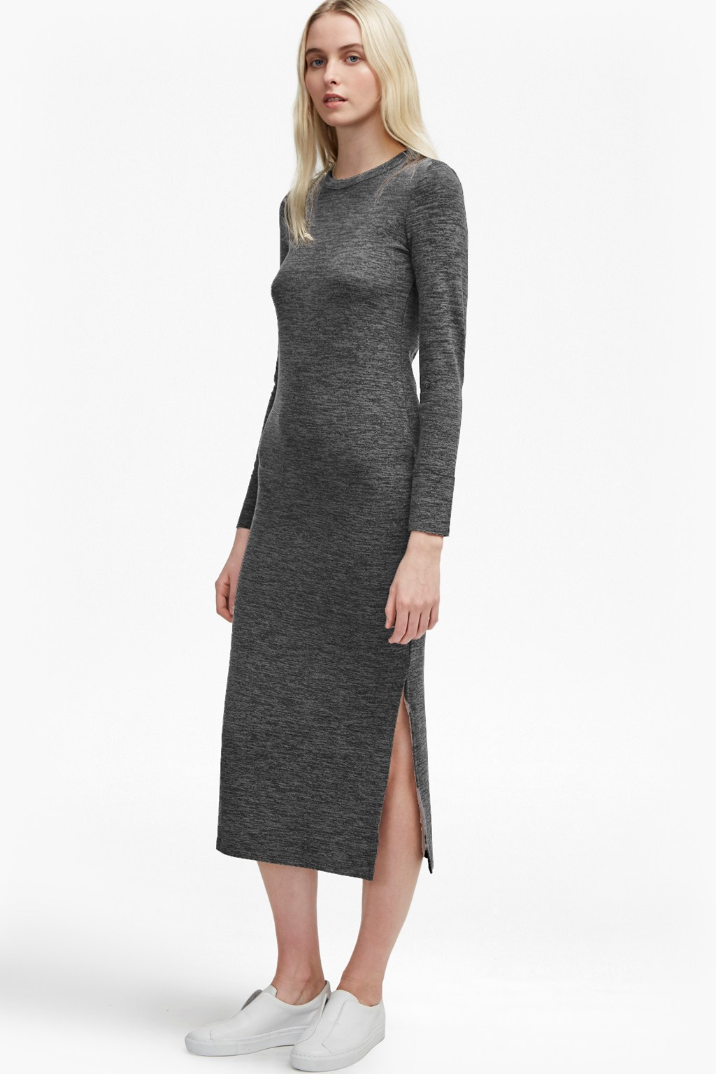 7eb8cf74a0d Sweeter Sweater Bodycon Midi Dress. loading images.