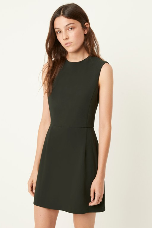 whisper high neck dress