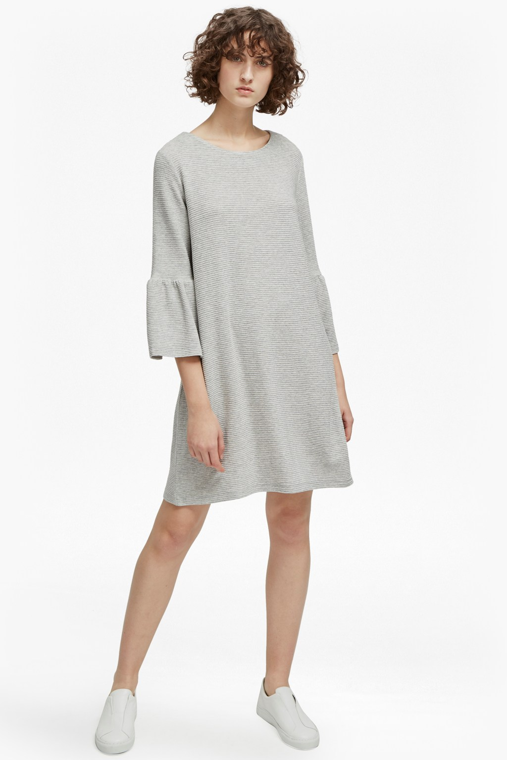 04a359f8314 Paros Sudan Flared Sleeve Dress | Sale | French Connection Usa