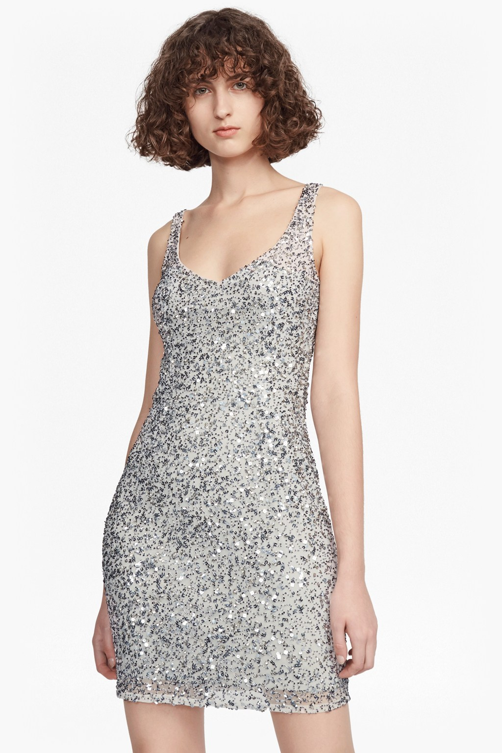 373a6bdfa496 Helen Sparkle Strappy Dress | New Arrivals | French Connection Usa