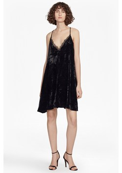 Lorraine Velvet Strappy Slip Dress