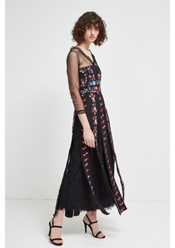 Edith Floral Long Sleeved Maxi Dress