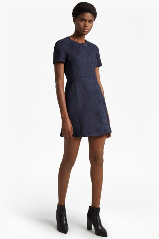 Complete the Look Patty Drape Short Sleeved Dress